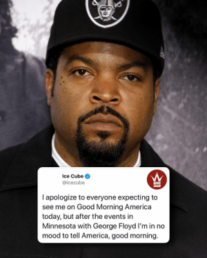 Ice Cube has a message for his fans this morning... 👀 @icecube https://t.co/CPCuQa0Ibl: Ice Cube has a message for his fans this morning... 👀 @icecube https://t.co/CPCuQa0Ibl