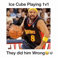 "Comment ""C-U-B-E"" letter by letter for a follow😂💀 - Follow me @thrillingsports for more! via @dunkfilmz: Ice Cube Playing 1v1  They did him Wrong Comment ""C-U-B-E"" letter by letter for a follow😂💀 - Follow me @thrillingsports for more! via @dunkfilmz"
