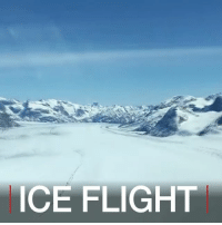 Memes, Nasa, and News: ICE FLIGHT 18 MAY: Nasa uses a fleet of research aircraft to take images of Earth's polar ice. This is a time-lapse video of Greenland's Southeast glaciers taken from the cockpit of a P-3 Orion aircraft. It is part of a project called Operation IceBridge which is trying to get a better understanding of connections between polar regions and the global climate system. Video credit: NASA-Gerrit Everson taken on 8 May 2017. More stories like this: bbc.in-iceberg nasa icebridge earth science flight timelapse greenland video ice glacier glaciers​ iceberg bbcshorts news bbcnews @Nasa @bbcnews
