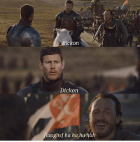 Memes, 🤖, and All: ickon  Dickon  laughs] ha hahahah Bronn was all of us 😂😂 https://t.co/6z5TGiGJpd