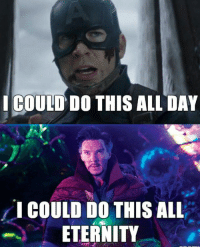 "20 Doctor Strange Memes To Make Your Astral LOL #sayingimages #doctorstrangememes #funnymemes #memes #lol #doctorstrange: ICOUID DO THIS ALL DAY  "" I COULD DO THIS ALL  ETERNITY 20 Doctor Strange Memes To Make Your Astral LOL #sayingimages #doctorstrangememes #funnymemes #memes #lol #doctorstrange"