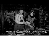 Funny, Paris, and Face: I'd be in Paris now if I could affordait. Funny Face (1957)