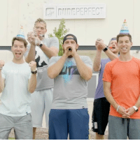 Memes, Party, and Giant: IDE  RE This weekend's new DudePerfect episode is gonna be one giant celebration! 🎉🎉🎉 Get ready to party with @thedudeperfectshow this Saturday at 9:30pm-8:30c!