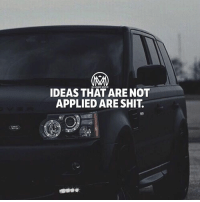 "Goals, Memes, and Shit: IDEAS THAT ARE NOT  APPLIED ARE SHIT. Because is not just about having ""ideas,"" it's about making ideas happen💯 ideas goals success millionairementor"