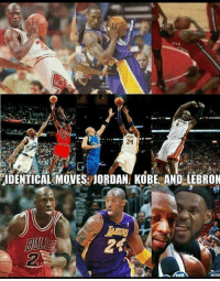 Jordans, Memes, and Jordan: IDENTICAL MOVES: JORDAN KOBE AND LEBRON
