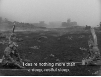 Non Existent Existentialist: Idesire nothing more than  a deep, restful sleep