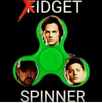 This.. pained me a little jkf snp supernatural: IDGET  SPINNER This.. pained me a little jkf snp supernatural
