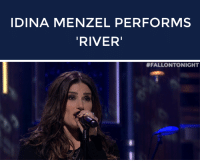 """Target, Http, and Spirit: IDINA MENZEL PERFORMS  RIVER   <p>Get into the holiday spirit with <a href=""""http://www.nbc.com/the-tonight-show/segments/92986"""" target=""""_blank"""">Idina Menzel&rsquo;s performance of &ldquo;River&rdquo;</a> by Joni Mitchell!</p>"""