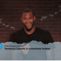 All Star, Birthday, and Memes: @idisrespecthoez  Damarcus Cousins is a emotional lesbian Happy 28th birthday to 4 x NBA All-Star @BoogieCousins https://t.co/799YU9veUE