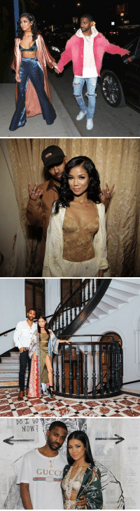 Big Sean, Gucci, and Jhene Aiko: , ie,P  표 ■   Per   主.  NARA/  @n More   DO I 50  NOW  GUCCI big sean and jhene aiko are the cutest