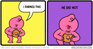 Archer, Dessert, and Comic: IEARNED THIS  HE DID NOT  THIS COMIC MADE POSSIBLE THANKS TO AUGUSTE ARCHER  @MrLovenstein  MRLOVENSTEINCOM Just dessert