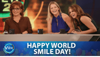 Friday, It's Friday, and Memes: IEW  HAPPY WORLD  SMILE DAY! There are so many reasons to smile today: It's Friday AND it's #WorldSmileDay! 😀😄😃🙂😊