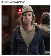 If 2016 was a person #Shameless <3