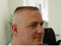 If a cop with this haircut pulls you over you have a 100% chance of getting a ticket: If a cop with this haircut pulls you over you have a 100% chance of getting a ticket