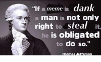 """Dank, Meme, and Http: """"If a meme is dank  a man is not only  right to steal it,  is obligated  to do so.""""  he <p>Could this be the end of the meme economy? via /r/MemeEconomy <a href=""""http://ift.tt/2q46GSh"""">http://ift.tt/2q46GSh</a></p>"""