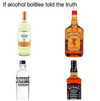 Currently 2 bottles deep in Crying Alone😩🍷 Via @drinksforgays_ winewednesday winesday: If alcohol bottles told the truth  CRYING  ALONI  EWBFF  BATHROOM  YOURE  TENT WHISKEY  rin Currently 2 bottles deep in Crying Alone😩🍷 Via @drinksforgays_ winewednesday winesday