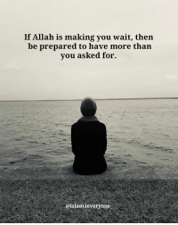 Memes, Patience, and 🤖: If Allah is making you wait, then  be prepared to have more than  vou asked for.  @islam4everyone. If Allah is making you wait, then be prepared to have more than you asked for. Allah is testing your patience
