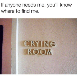 Memes, Call, and Now: If anyone needs me, you'll know  where to find me.  CRYINE  ROOM Now that's what I call memes 1