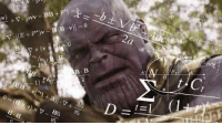 Thanos, B. B., and Him: iF  B. B  2  E8  16 <p>Thanos when cap blocked him</p>