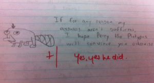 Image - 736736]   Funny Exam Answers   Know Your Meme: If for  hepe Pery the Pstyps  euys he di Image - 736736]   Funny Exam Answers   Know Your Meme