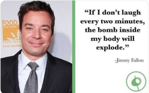 "Food, Jimmy Fallon, and Speed: ""If I don't laugh  every two minutes,  the bomb inside  my body will  explode.""  FOR NEW  FOOD FOR S  www.foodba  95  Jimmy Fallon Speed (1994, dir. Jan de Bont)"