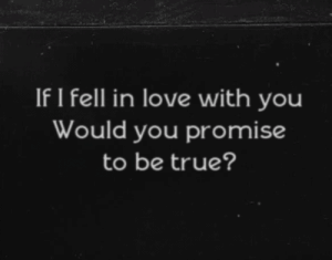 https://iglovequotes.net/: If I fell in love with you  Would you promise  to be true? https://iglovequotes.net/