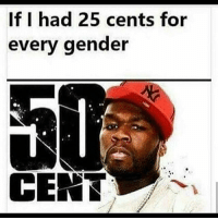 America, Funny, and Instagram: If I had 25 cents for  every gender  CENT Dead every time I see this 😂😂 🔴www.TooSavageForDemocrats.com🔴 JOINT INSTAGRAM: @rightwingsavages Partners: 🇺🇸 @The_Typical_Liberal 🇺🇸 @theunapologeticpatriot 🇺🇸 @DylansDailyShow 🇺🇸 @keepamerica.usa 🇺🇸@Raised_Right_ 🇺🇸@conservative.female 🇺🇸 @too_savage_for_liberals 🇺🇸 @Conservative.American DonaldTrump Trump 2A MakeAmericaGreatAgain Conservative Republican Liberal Democrat Ccw247 MAGA Politics LiberalLogic Savage TooSavageForDemocrats Instagram Merica America PresidentTrump Funny True SecondAmendment