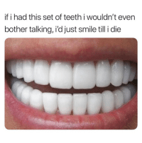 "Best, Free, and Smile: if i had this set of teeth i wouldn't even  bother talking, i'd just smile till i die This teeth whitening pen is the best and fastest way to get white teeth!😍 See results in the first use! 💫 USE CODE ""xmas"" for 25% OFF😱 •• SHOP➡️LINK IN BIO SHOP➡️LINK IN BIO SHOP➡️LINK IN BIO •• Free shipping worldwide 🌏"