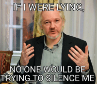 Julian Assange is an Australian computer programmer, publisher and journalist. He is editor-in-chief of the organisation WikiLeaks, which he founded in 2006.: IF I WERE LYING  NO ONE WOULD BE  TRYING TO SILENCE ME Julian Assange is an Australian computer programmer, publisher and journalist. He is editor-in-chief of the organisation WikiLeaks, which he founded in 2006.