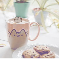 If I were tiny I would bathe in a teacup ☕🐱💕 Follow @pusheen on Instagram!: If I were tiny I would bathe in a teacup ☕🐱💕 Follow @pusheen on Instagram!