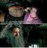 Memes, Home, and Back: If I were you, I shouldn't get too used to being  back. In fact, I mightn't bother unpacking at all.  POTTERSCENES [ OrderOfThePhoenix – 2007] — Q: What would your ideal home look like?