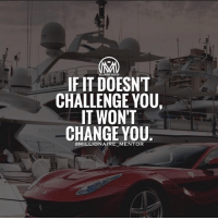 "Fail, Gym, and Life: IF IT DOESNT  CHALLENGE YOU  IT WONT  CHANGE YOU  OMILLIONAIRE MENTOR There's this famous quote that many of you already heard before: ""If something that you're doing doesn't challenge you, then it doesn't change you."" ☝️️Of course, since every one of us has room for improvement, this can also mean if you don't change yourself, then you can't be responsible for changing your situation in life. You can never see any improvement in your life if you stick to your comfort zone. ✔️Learn a new language. Chines, Dutch, Nihonggo, French, Filipino, Mandarin, Spanish, etc... these are just some of the languages you can discover as you strive to challenge yourself. ✔️Figure out what you're scared of and do it for one week consistently. If you're in sales, and you're scared of talking to people personally or over the phone, then you have a problem. You can't just relate with your clients online, can you? Now, instead of crippling in fear and automatically thinking you'll fail, spend at least five minutes a day to pick up the phone and make a call to a prospect. Yes, it's scary. But you will get through it! ✔️Dedicate at least nine minutes a day for physical exercise. You don't need to go to the gym, you know. A simple 9-minute run around your neighborhood or an intense dance routine done in your living-room can do wonders for yourself. Aside from the obvious reason that exercise can help you maintain your regular weight or shed those unnecessary pounds, it can also aid in making you feel better about yourself by releasing endorphins. If you feel good, you do good. ✔️Make a realistic budget and find out how you can cut back on something so you can invest more. Challenge yourself to step out of your current budget and develop a better budget for yourself. Money management is not about what you make – it's what you do with what you make. ✔️Attend one career-related seminar a month. Don't settle for your current job position. Aim high in your career. Of course, with that aim, include in your action, too. millionairementor fridayvibes hustle grind"