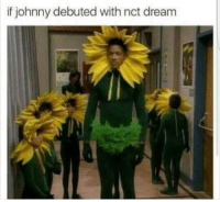 Kids, Dream, and Big: if johnny debuted with nct dream a big kid with small kids