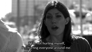 Net, Href, and Everyone: If m not hurting myself,  I'm hurting everyone around me. https://iglovequotes.net/