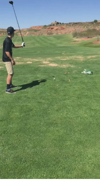 If Monday was a golf swing: If Monday was a golf swing