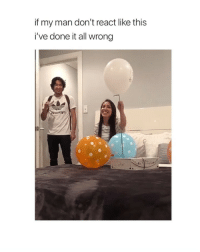 God, Oh My God, and Shit: if my man don't react like this  i've done it all wrong  okiyn oh my god this is the cutest shit ever