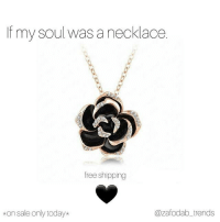 Memes, Free, and Link: If my soul was a necklace.  free shipping  kon sale only today*  @zafodab_trends TAG YOUR BF, SEE IF HE'LL GET YOU IT 🤣🤣 🔥 @zafodab_trends 👈SPIN TO WIN 😍 @zafodab_trends 👈TAG A FRIEND 🖤 🖤 🖤 @zafodab_trends 👈Browse our shop(link in bio) 🔥