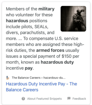 If our socialist military can do it, so can we! Essential workers deserve hazard pay: If our socialist military can do it, so can we! Essential workers deserve hazard pay
