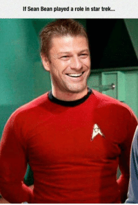 ~Tyrion: If Sean Bean played a role in star trek... ~Tyrion