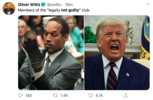 If the charges were shit, you must acquit: If the charges were shit, you must acquit