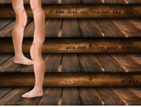 Dreams, Feet, and Can: if the feet can master the stairs  you can Follow your dreams  or else Self improvement is mandatory https://t.co/JbMKpOt0nM