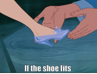Since you think everything is always about you, here you go Tracy HM.: If the shoe fits Since you think everything is always about you, here you go Tracy HM.