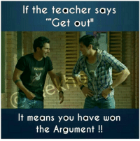 """Playboy, Dekh Bhai, and International: If the teacher says  """"Get out""""  PLAYBOY  It means you have won  the Argument Always use to win 😝 And end result was fun 😜 SchoolDays"""