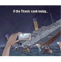 Titanic: If the Titanic sank today...