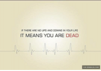 IF THERE ARE NO UPS AND DOWNS IN YOUR LIFE  IT MEANS YOU ARE DEAD  Ivan DAMNLOL.coH No Ups And Downs http://www.damnlol.com/no-ups-and-downs-107166.html