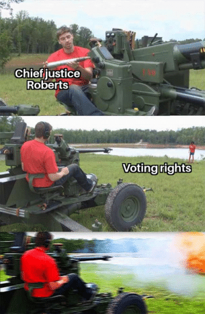If there's anything he hates it's voting rights: If there's anything he hates it's voting rights