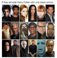 @thearchbish0pofbanterbury is hands down the funniest account on insta😂: If they remade Harry Potter with only black actors.. @thearchbish0pofbanterbury is hands down the funniest account on insta😂