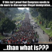 A Honduran caravan with more than 5,000 people is making its way to the United States. Some hope to take advantage of loopholes within our asylum system, and some will just enter the country illegally.  If this isn't proof that Congress needs to do more to discourage illegal immigration to the U.S., than what is?  Congress needs to take action that closes our asylum loopholes and requires all employers to use E-Verify to shut off the jobs magnet!: If this isn't proof that Congress needs to  do more to discourage illegal immigration..  .than what is??? A Honduran caravan with more than 5,000 people is making its way to the United States. Some hope to take advantage of loopholes within our asylum system, and some will just enter the country illegally.  If this isn't proof that Congress needs to do more to discourage illegal immigration to the U.S., than what is?  Congress needs to take action that closes our asylum loopholes and requires all employers to use E-Verify to shut off the jobs magnet!