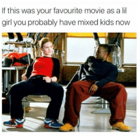 Memes, Tbt, and Girl: If this was your favourite movie as a lil  girl you probably have mixed kids now 🐸☕😂😂😂😂😂 tbt throwbackthursday pettypost pettyastheycome straightclownin hegotjokes jokesfordays itsjustjokespeople itsfunnytome funnyisfunny randomhumor savethelastdance