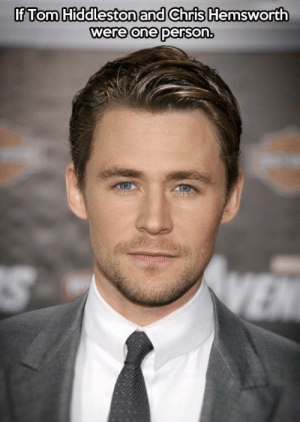 srsfunny:  Extreme Handsomeness: If Tom Hiddleston and Chris Hemsworth  were one person. srsfunny:  Extreme Handsomeness